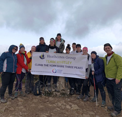 Staff at a residential care service in North Yorkshire reached new heights to raise almost £1,700 for charity when they conquered Yorkshire's Three Peaks in support of the National Autistic Society.