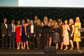 Care provider Heathcotes Group scooped the award for Large Employer of the Year at the Learning Unlimited National Apprenticeship Awards 2018.