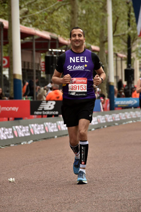 Neel Radia, the National Chair of the National Association of Care Catering (NACC), successfully completed the Virgin London Marathon on 28th April, raising nearly £6000 to date for St Luke's Hospice, Harrow & Brent.