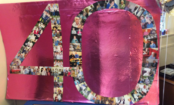 MHA Norwood care home in Ipswich recently celebrated its 40th anniversary in style as staff, residents and volunteers came together for a fun-filled day which paid homage to the care home's 1970s roots.