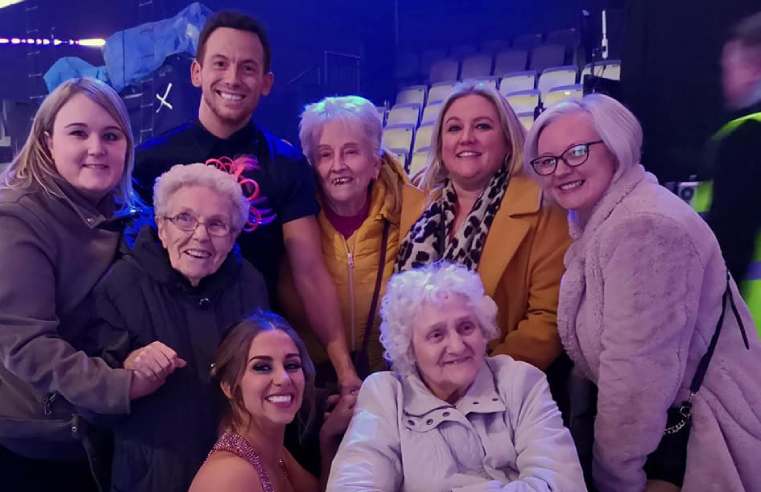 Care Home Residents Dancing on Ice Live