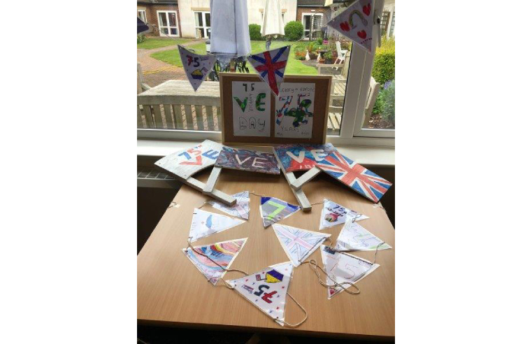 The Royal Alfred Seafarers' Society Celebrate VE Day