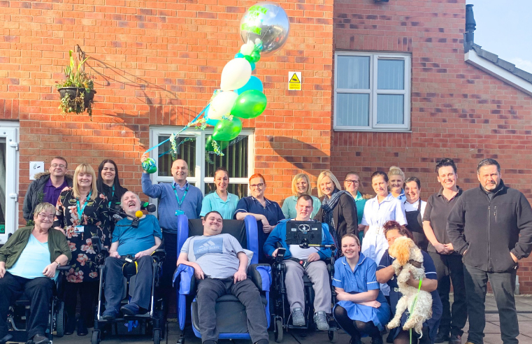 Greenside Court complex needs care home in Rotherham has been rated 'Outstanding' by the CQC.