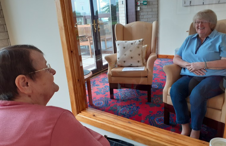 NEW VISITOR PODS ENABLE RESIDENTS TO SEE FAMILIES