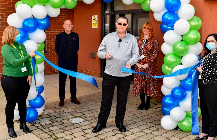 Cygnet Joyce Parker Hospital was officially opened by Darren Parker, Joyce's husband.