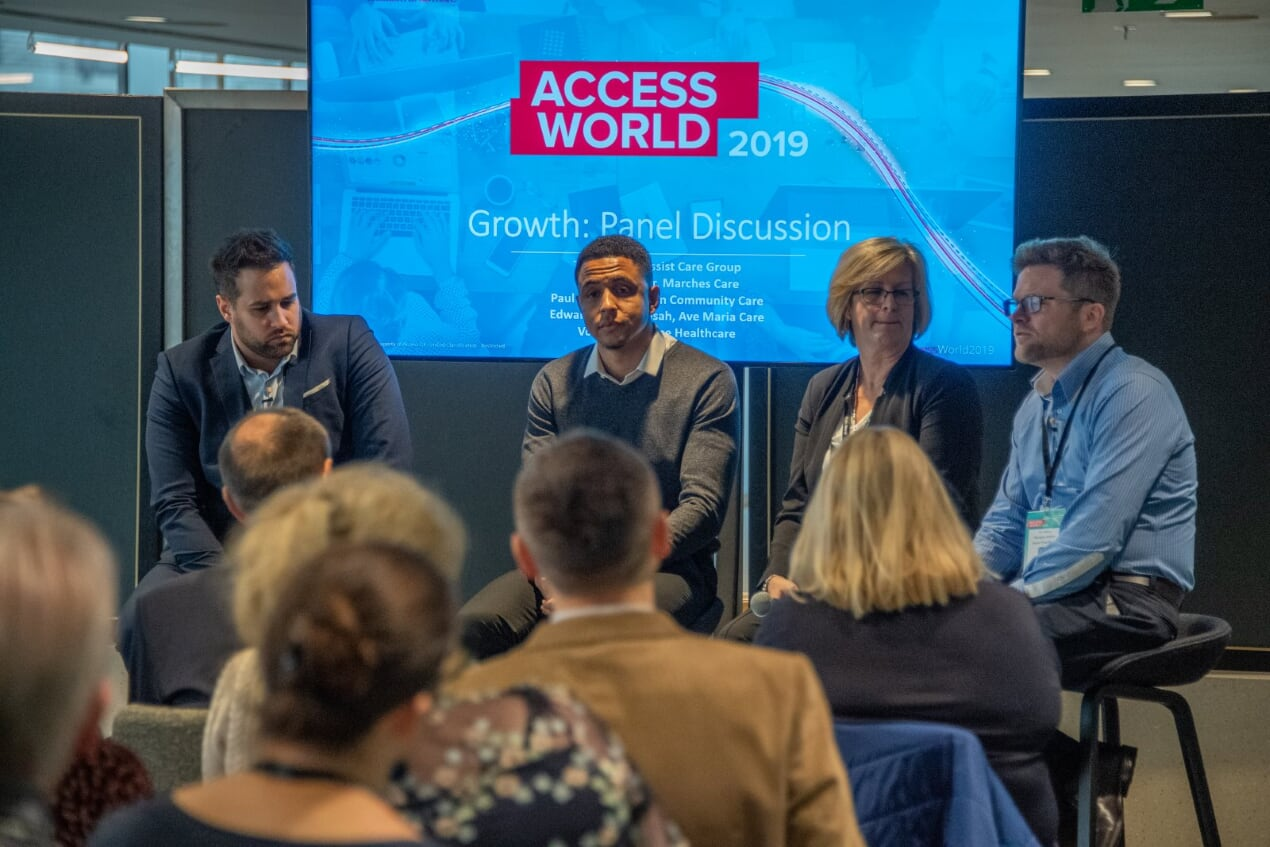Over 1,300 delegates attended Access World, software specialist Access Health and Social Care's annual conference, at Wembley Stadium on 21st November.