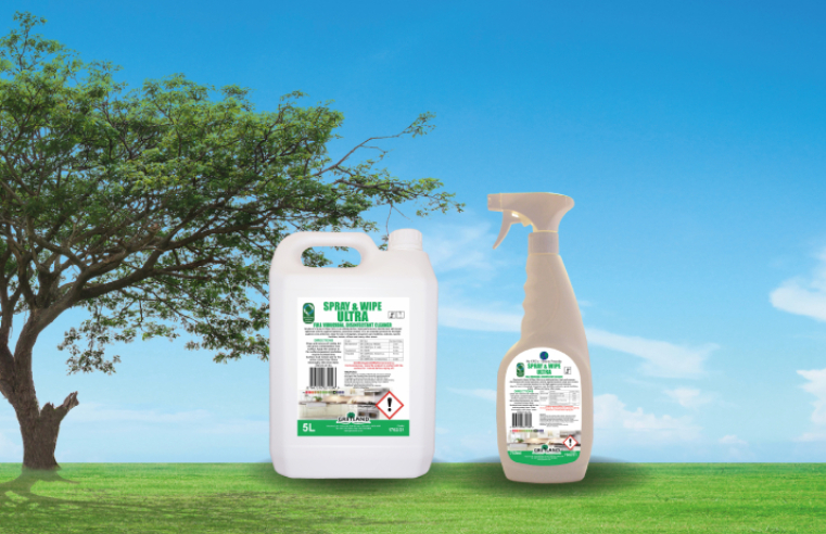 Greyland Ltd is proud to announce that Spray & Wipe Ultra, its multipurpose antiviral surface cleaner, has been tested against the SARS-CoV-2 virus using the NEN 14675 Standard Method.