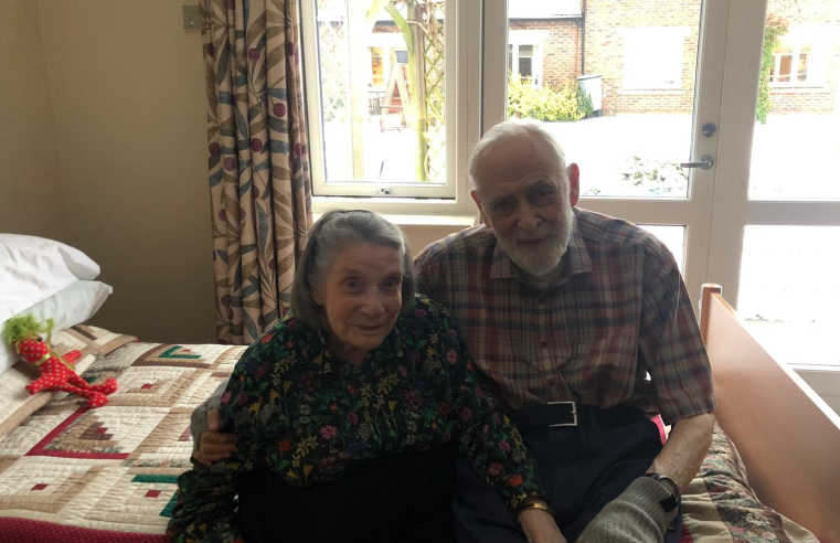 Trevor and Isabelle Kirby have been married 70 years this year.