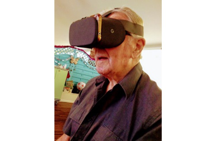 VIRTUAL REALITY EXPERIENCE FOR TAUNTON CARE HOME RESIDENTS