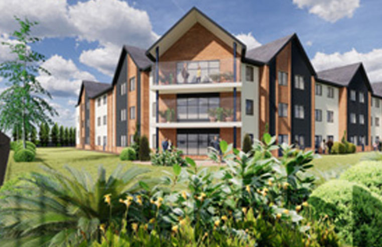 Elworth Grange care home, operated by Ideal Carehomes, due to open in February 2020.