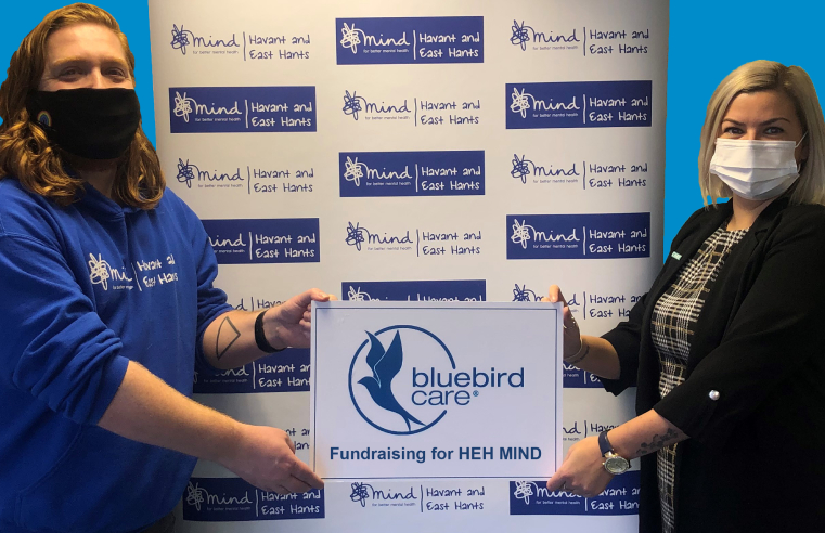 Bluebird Care and HEH MIND launching their charity of the year partnership
