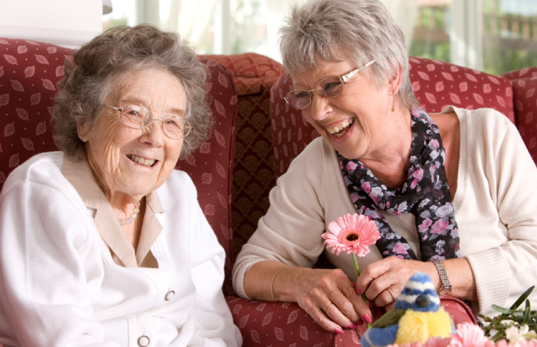 Two Care Home Visitors Allowed